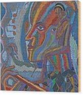 Swan Lake 3 Wood Print