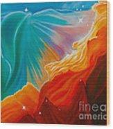 Swan Nebula Wood Print