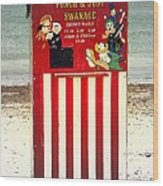 Swanage Punch And Judy Wood Print