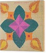 Swarna Jyot Wood Print