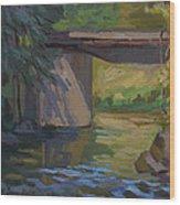 Swauk Creek Early Spring Wood Print