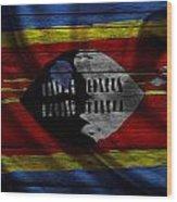 Swaziland Wood Print