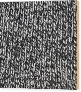 Sweater Background Wood Print