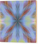 Sweeping Star Burst 1 Wood Print