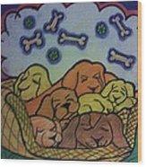 Sweet December Dreams Wood Print by Christy Saunders Church
