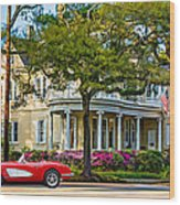 Sweet Home New Orleans 3 Wood Print