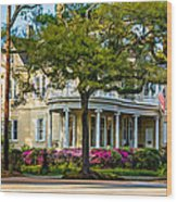 Sweet Home New Orleans Paint Wood Print