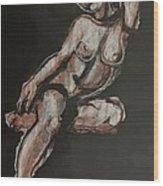 Sweet Little Mystery - Nudes Gallery Wood Print