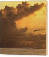 Sweet Mystery Of...stormcloud Wood Print