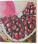 Sweet Pomegranate Wood Print