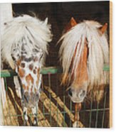 Sweet Pony Wood Print