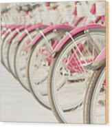 Sweet Rides Wood Print by Amy Tyler