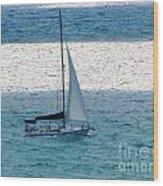 Sweet Sail Wood Print