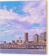 Sweet Seattle Wood Print