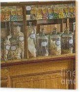 Sweet Shop Wood Print
