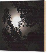 Sweet Silhouette Wood Print
