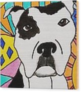 Sweet Spot Pit Wood Print by Carol Hamby