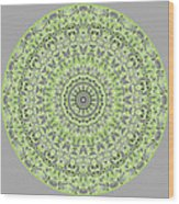 Sweet Spring Mandala Wood Print