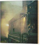 Sweet Steam Wood Print