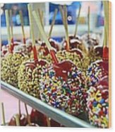 Sweet Treats Wood Print