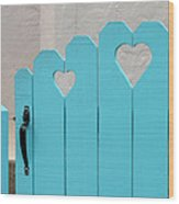 Sweetheart Gate Wood Print