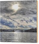 Swift Island Bridge 4 Wood Print