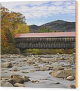 Swift River Vista Wood Print