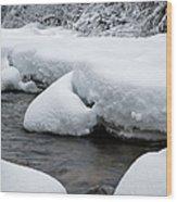 Swift River - White Mountains New Hampshire Usa Wood Print