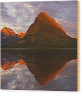 Swiftcurrent Reflection Wood Print