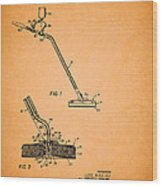 Swimming Pool Cleaning Device Patent Wood Print