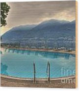 Swimming Pool Wood Print