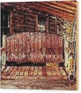 Swing Low Wood Print