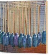 Swinging Blues Wood Print