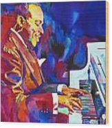 Swinging With Count Basie Wood Print