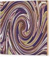 Swirl 88 Wood Print
