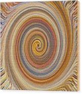 Swirl 91 Wood Print