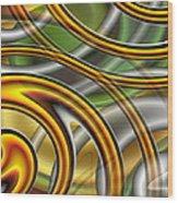 Swirl On Swirl On Swirl On Swirl Wood Print