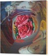 Swirl Wood Print by Rosalie Klidies