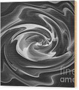 Swirl Wave V Wood Print