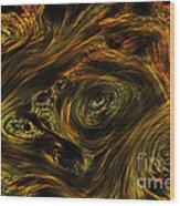 Swirling 2 Wood Print