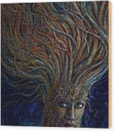 Swirling Beauty Wood Print
