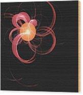 Swirly Wood Print