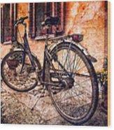 Swiss Bicycle Wood Print