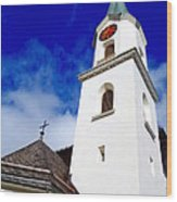 Swiss Church Wood Print