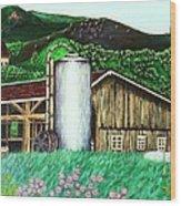 Swiss Granary Wood Print
