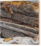 Switchback Wood Print