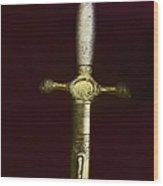 Sword Wood Print