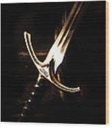 Sword Of Gandalf Wood Print