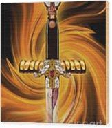 Sword Of The Spirit Wood Print