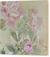 Syakuyaku Crop II Wood Print